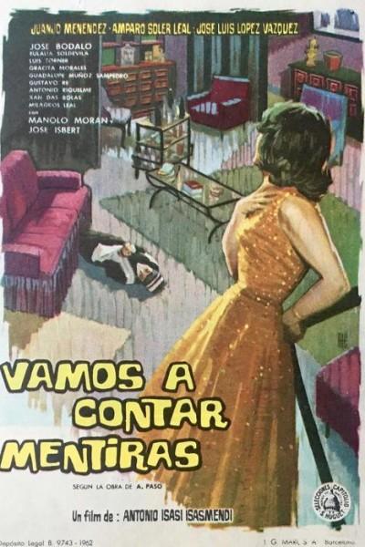 Caratula, cartel, poster o portada de Vamos a contar mentiras