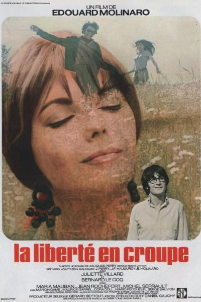 Caratula, cartel, poster o portada de La liberté en croupe