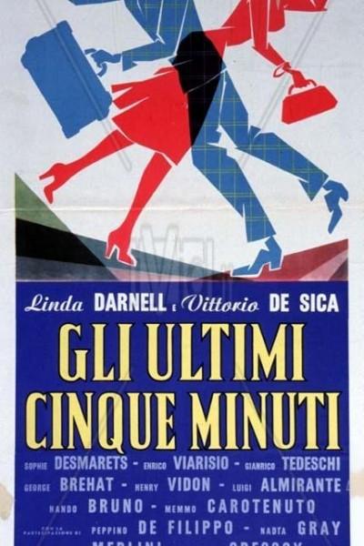 Caratula, cartel, poster o portada de Los últimos cinco minutos