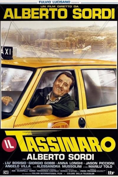 Caratula, cartel, poster o portada de Il tassinaro