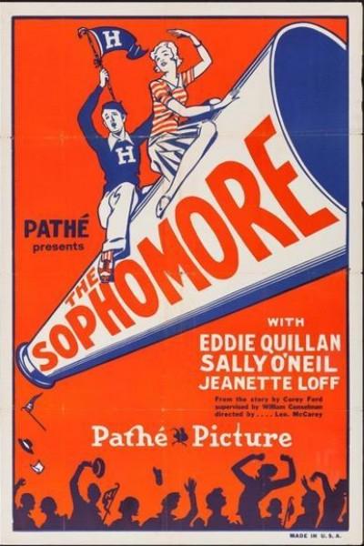 Caratula, cartel, poster o portada de The Sophomore