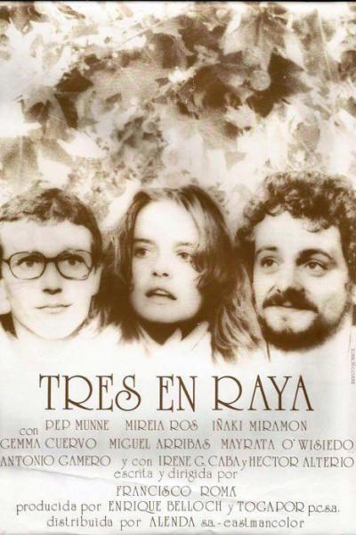 Caratula, cartel, poster o portada de Tres en raya