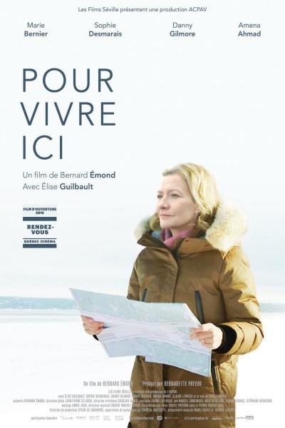 Caratula, cartel, poster o portada de Pour vivre ici