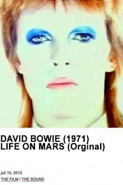 Caratula, cartel, poster o portada de David Bowie: Life on Mars? (Vídeo musical)