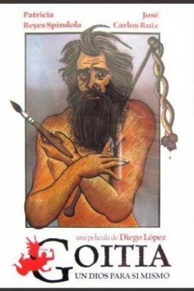 Caratula, cartel, poster o portada de Goitia, un dios para sí mismo