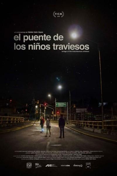 Caratula, cartel, poster o portada de El puente de los niños traviesos