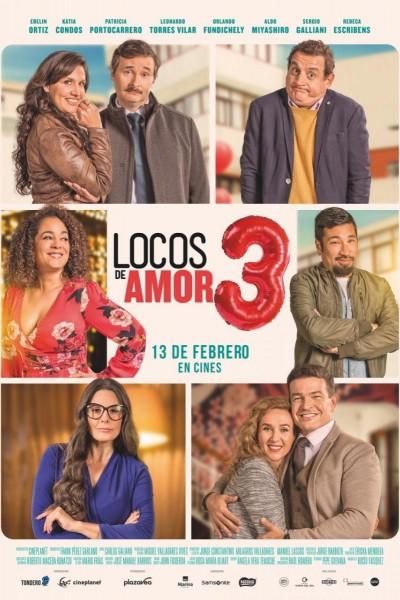 Caratula, cartel, poster o portada de Locos de amor 3