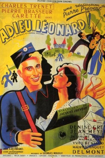Caratula, cartel, poster o portada de Adieu Léonard