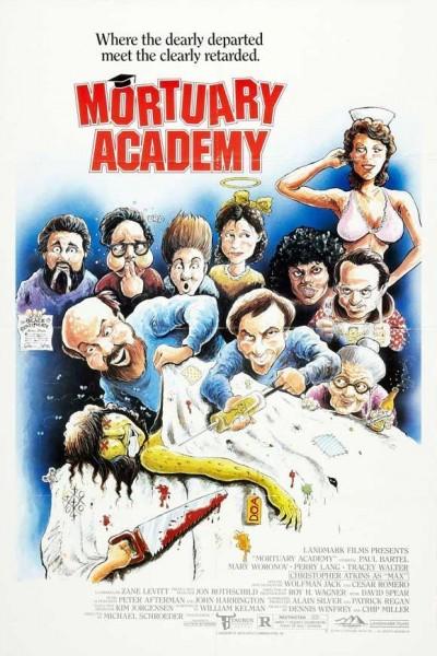 Caratula, cartel, poster o portada de Academia Mortuoria