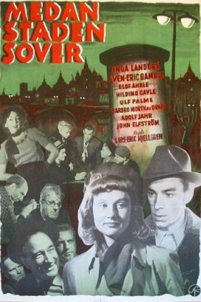 Caratula, cartel, poster o portada de Mientras la ciudad duerme