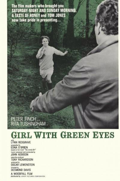 Caratula, cartel, poster o portada de La chica de los ojos verdes