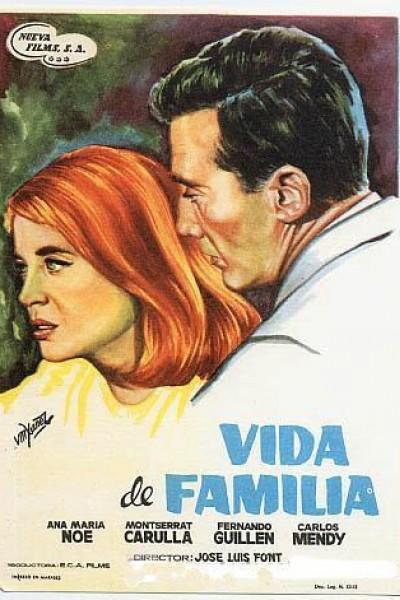 Caratula, cartel, poster o portada de Vida de familia