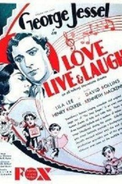 Caratula, cartel, poster o portada de Amar, vivir y reír