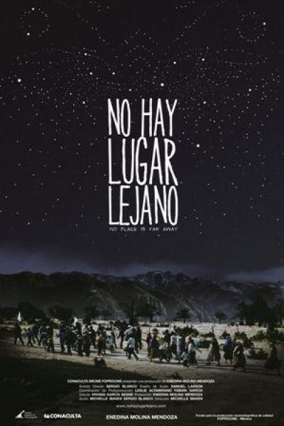 Caratula, cartel, poster o portada de No hay lugar lejano