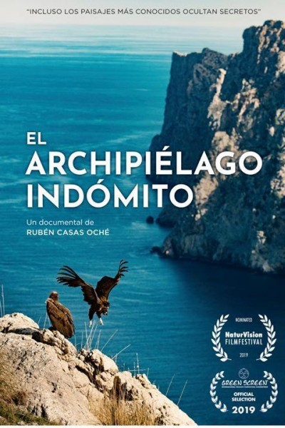 Caratula, cartel, poster o portada de El Archipiélago indómito
