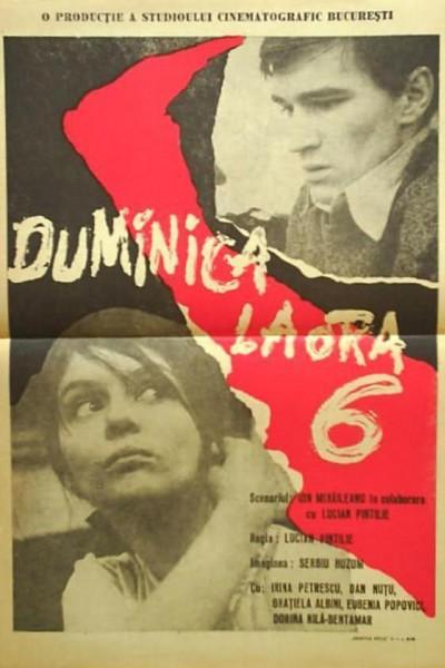 Caratula, cartel, poster o portada de Duminica la ora 6
