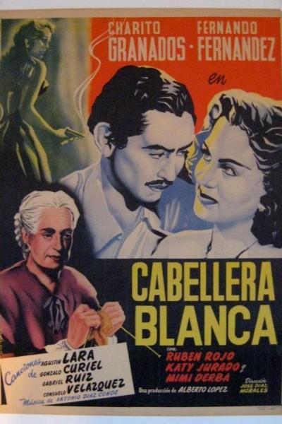 Caratula, cartel, poster o portada de Cabellera blanca