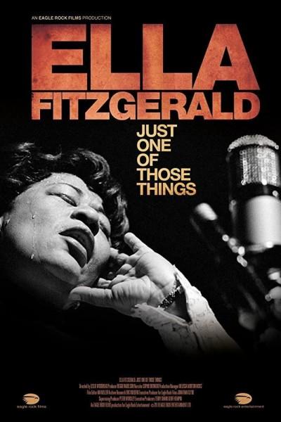 Caratula, cartel, poster o portada de Ella Fitzgerald: Just One of Those Things