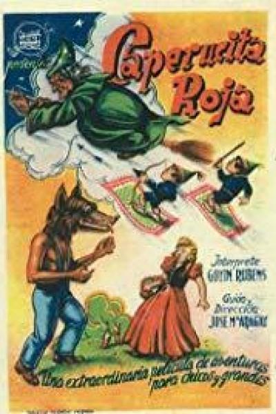 Caratula, cartel, poster o portada de Caperucita roja