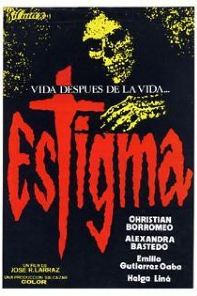 Caratula, cartel, poster o portada de Estigma