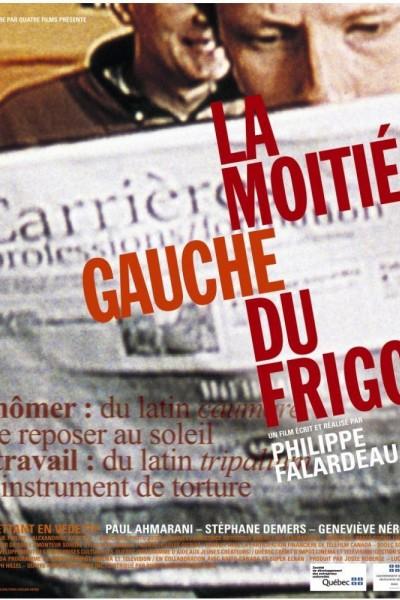 Caratula, cartel, poster o portada de La moitié gauche du frigo (El lado izquierdo del refri)