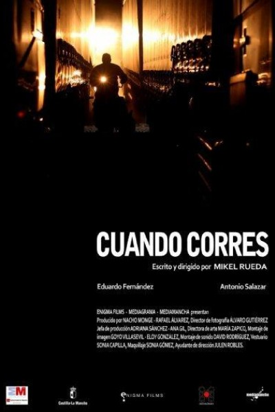 Caratula, cartel, poster o portada de Cuando corres
