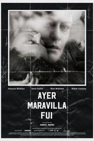 Caratula, cartel, poster o portada de Ayer maravilla fui