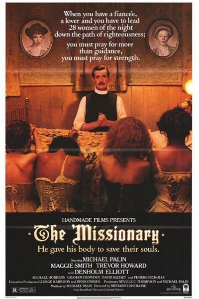 Caratula, cartel, poster o portada de El misionero