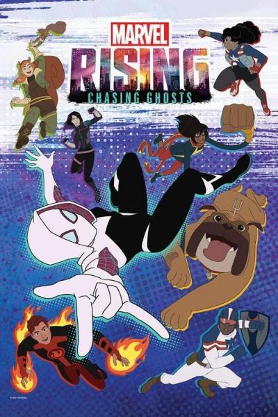 Caratula, cartel, poster o portada de Marvel Rising: Chasing Ghosts