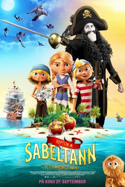 Caratula, cartel, poster o portada de Captain Sabertooth and the Magic Diamond