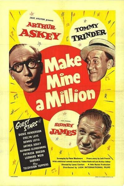 Caratula, cartel, poster o portada de Make Mine a Million