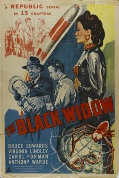 Caratula, cartel, poster o portada de The Black Widow