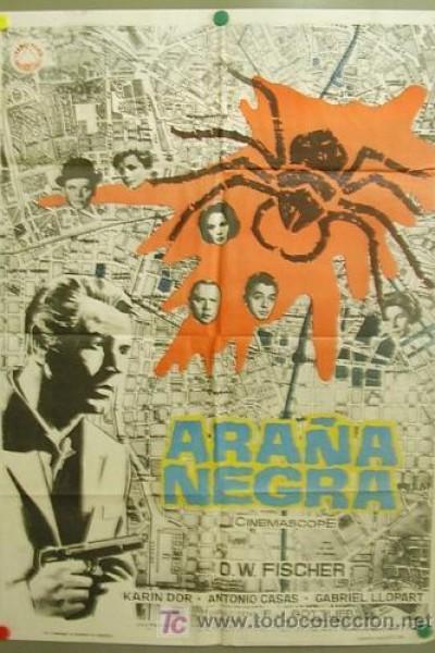 Caratula, cartel, poster o portada de La araña negra