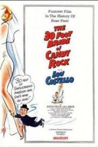 Caratula, cartel, poster o portada de The 30 Foot Bride of Candy Rock