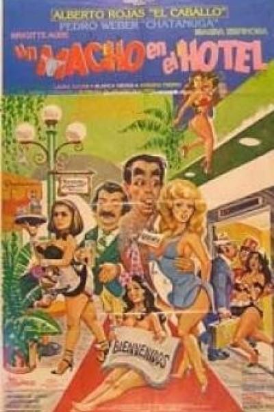 Caratula, cartel, poster o portada de Un macho en el hotel