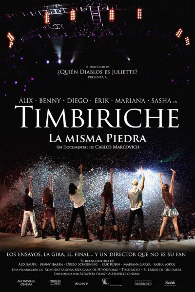 Caratula, cartel, poster o portada de Timbiriche: La misma piedra