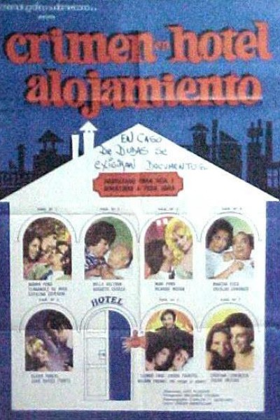 Caratula, cartel, poster o portada de Crimen en el Hotel Alojamiento