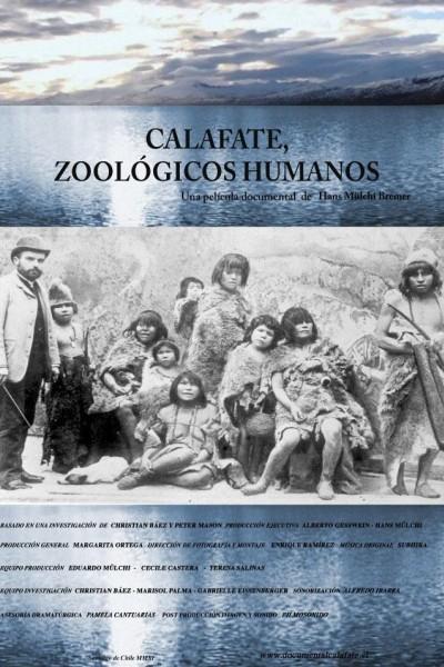Caratula, cartel, poster o portada de Calafate, zoológicos humanos