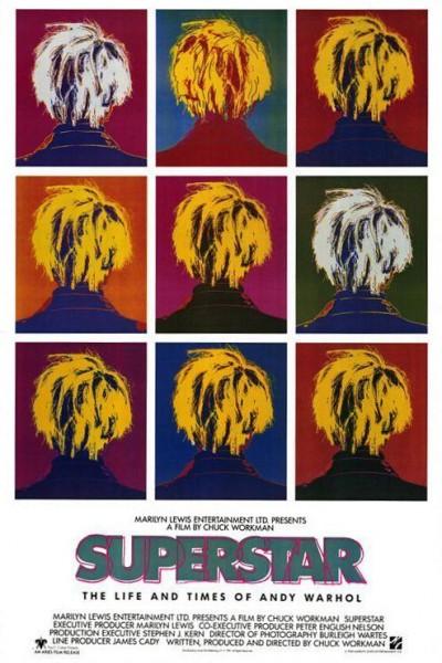 Caratula, cartel, poster o portada de Superstar: The Life and Times of Andy Warhol