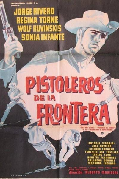 Caratula, cartel, poster o portada de Pistoleros de la frontera