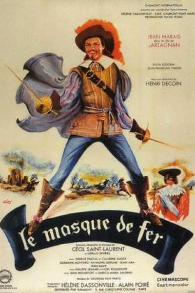 Caratula, cartel, poster o portada de La máscara de hierro