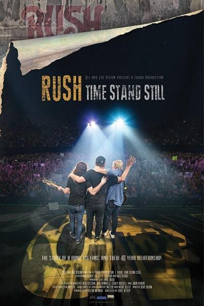 Caratula, cartel, poster o portada de Rush: Time Stand Still