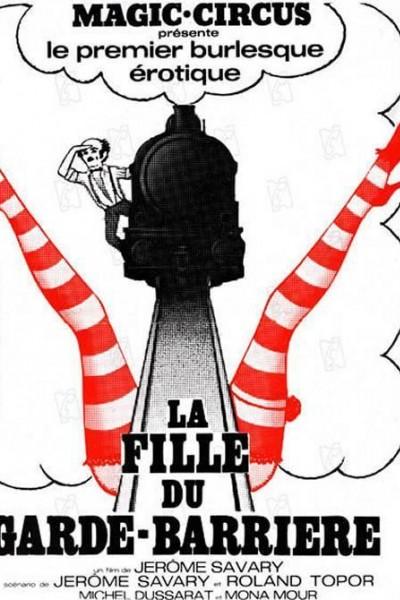 Caratula, cartel, poster o portada de La hija del guardabarreras