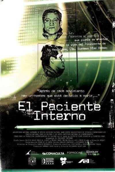 Caratula, cartel, poster o portada de El paciente interno