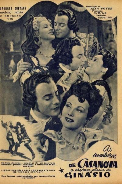 Caratula, cartel, poster o portada de Les aventures de Casanova