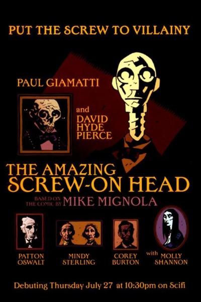 Caratula, cartel, poster o portada de The Amazing Screw-On Head