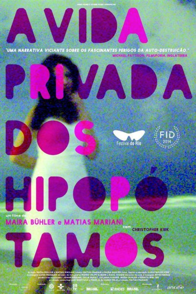 Caratula, cartel, poster o portada de A vida privada dos hipopótamos