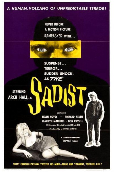 Caratula, cartel, poster o portada de The Sadist