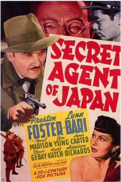 Caratula, cartel, poster o portada de Secret Agent of Japan