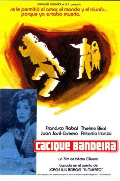 Caratula, cartel, poster o portada de Cacique Bandeira